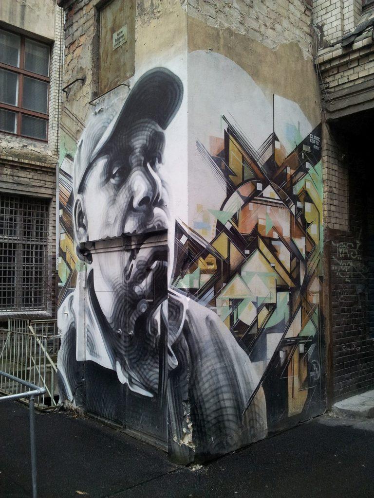 Graffiti Schönhauser Allee 8
