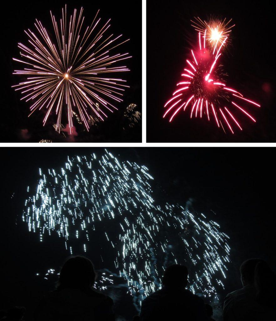 Feuerwerkersinfonie Collage